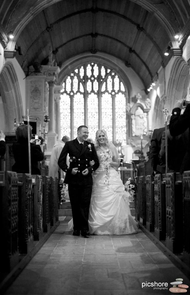wembury church wedding photography