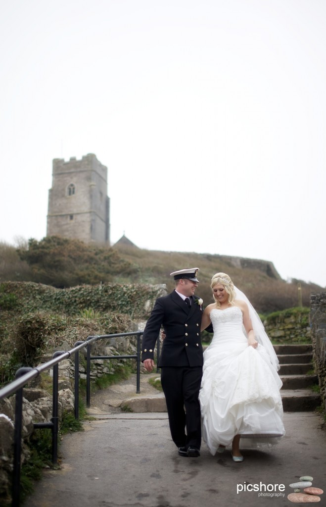 wembury church wedding photography