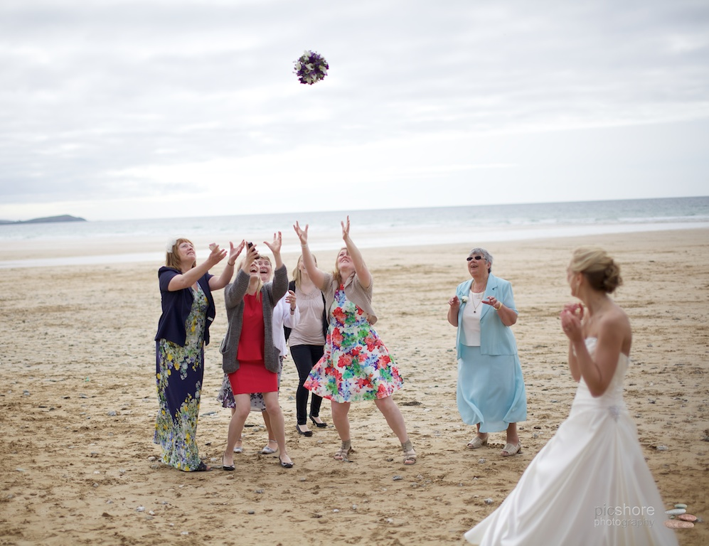 Newquay wedding photography