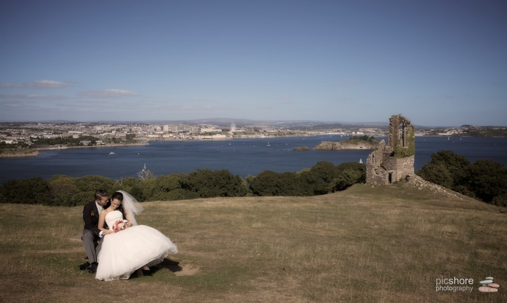 Mount Edgcumbe wedding photographer