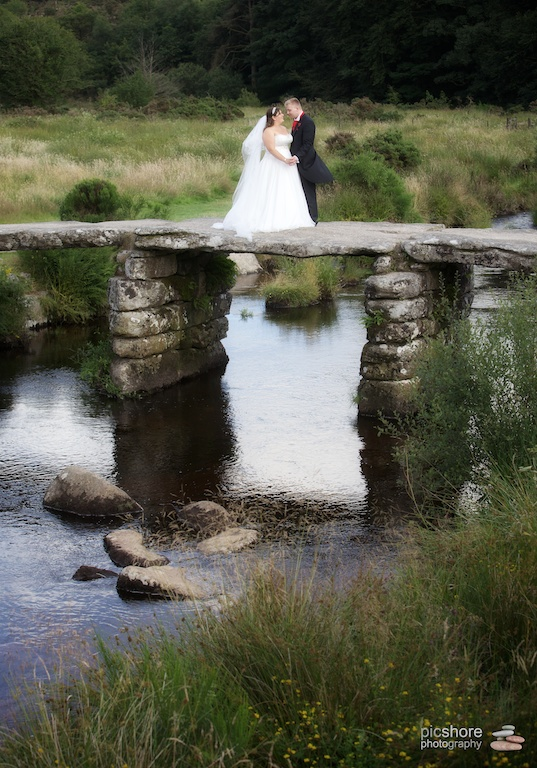 Two Bridges Hotel Dartmoor wedding