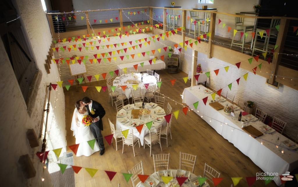 barn wedding cornwall