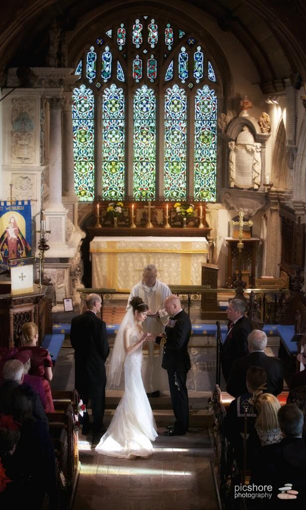 wembury church wedding picshore photography 1