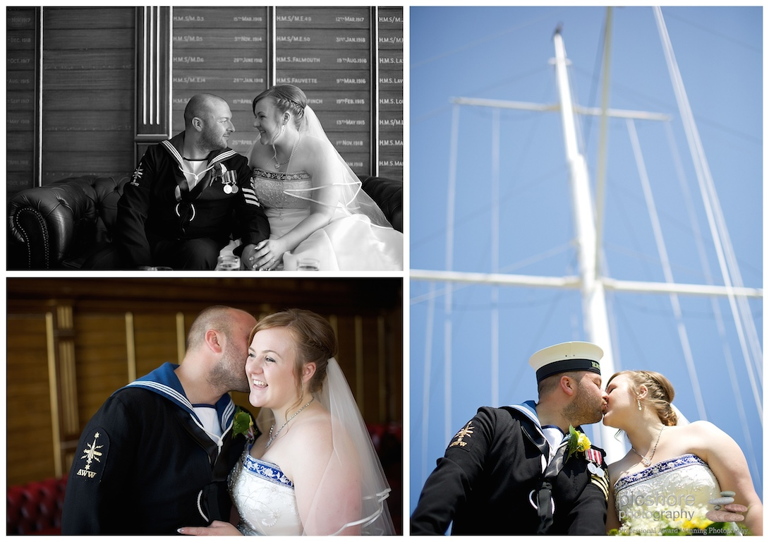 HMS Drake Plymouth wedding Devon Picshore Photography 11
