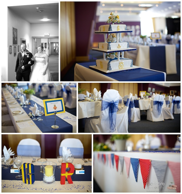 HMS Drake Plymouth wedding Devon Picshore Photography 16