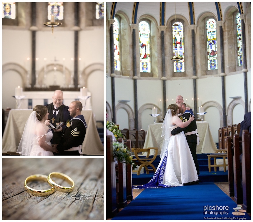 HMS Drake Plymouth wedding Devon Picshore Photography 5