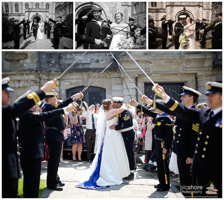 HMS Drake Plymouth naval wedding Devon Picshore Photography 7