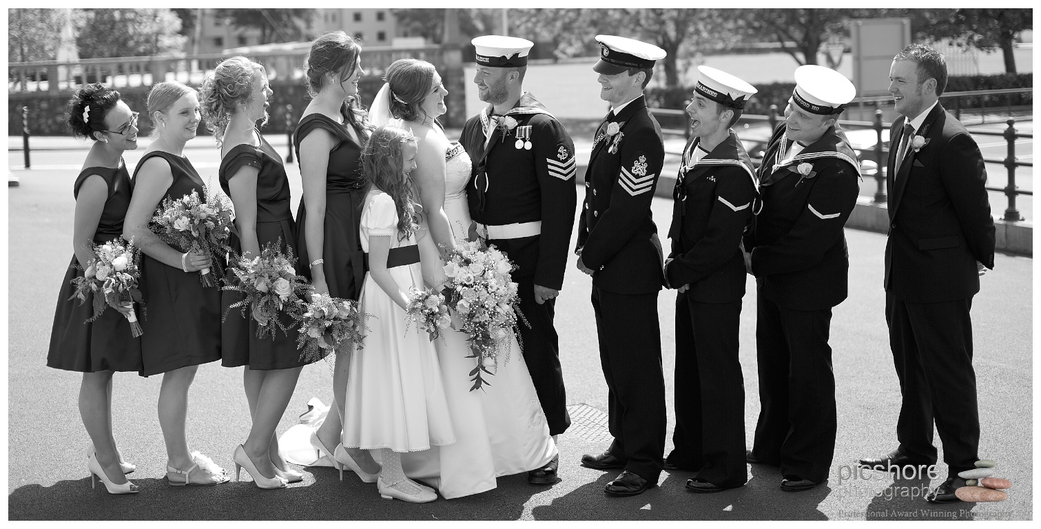 HMS Drake Plymouth wedding Devon Picshore Photography 8