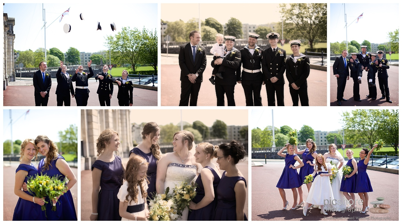 HMS Drake Plymouth wedding Devon Picshore Photography 9