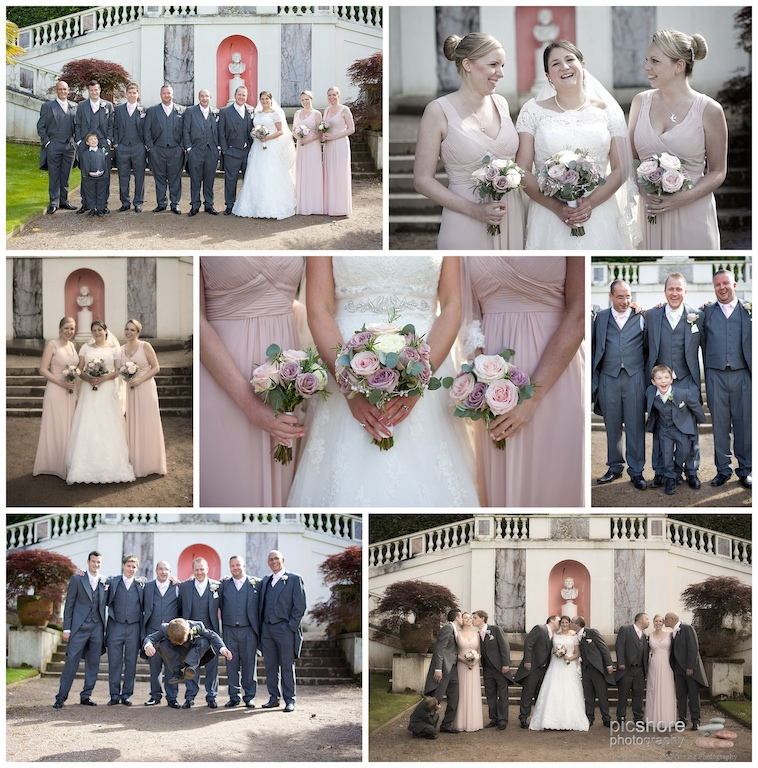 Mount Edgcumbe orangery wedding Photography Cornwall 025