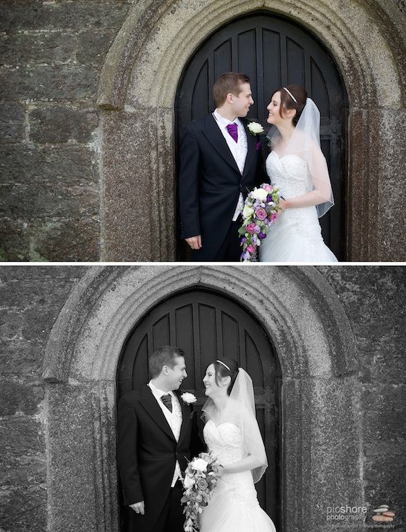6 milton abbot church devon wedding picshore photography 4