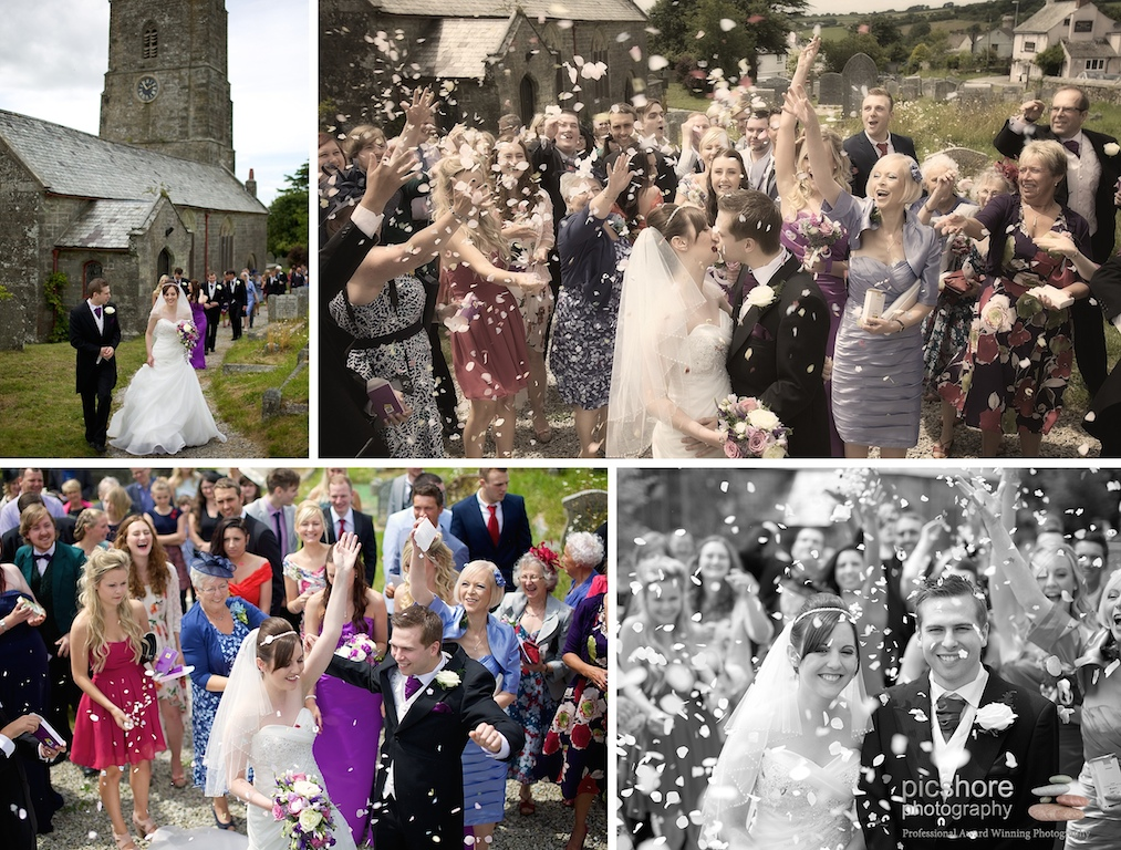 7 milton abbot church devon wedding picshore photography 5