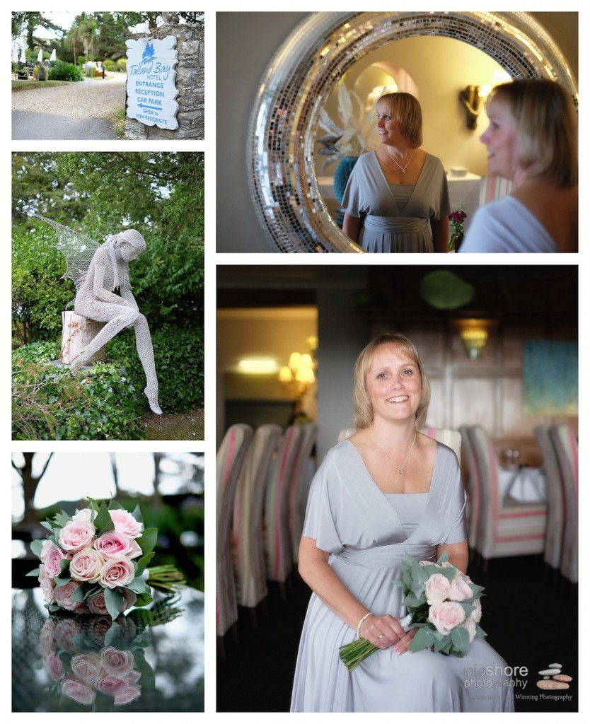 talland bay hotel cornwall wedding picshore photography 1