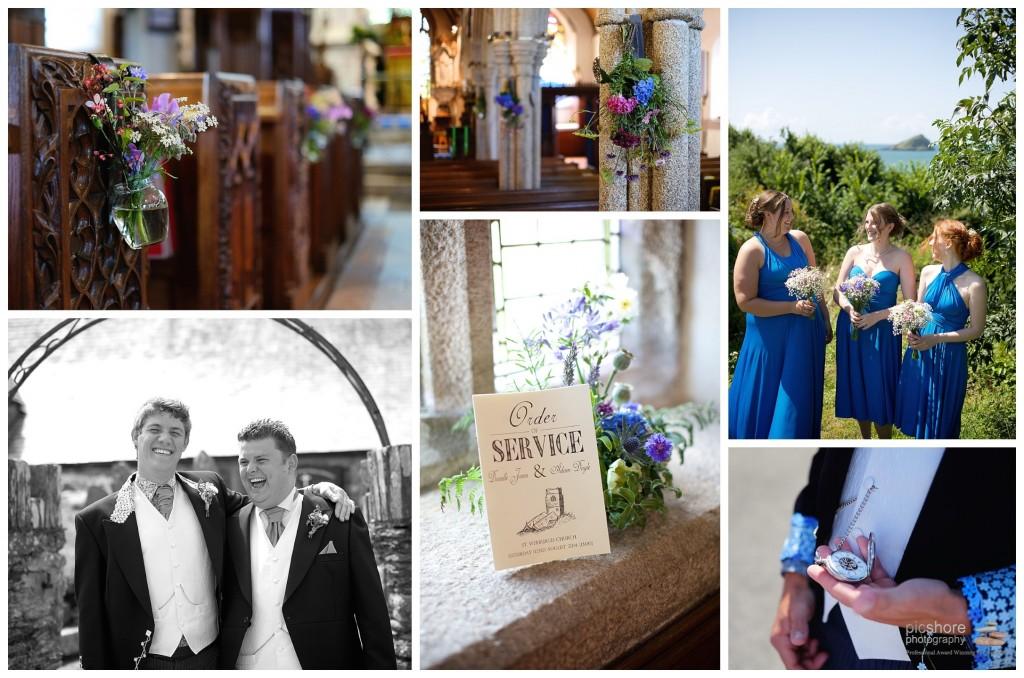 wembury church devon wedding picshore photography 1