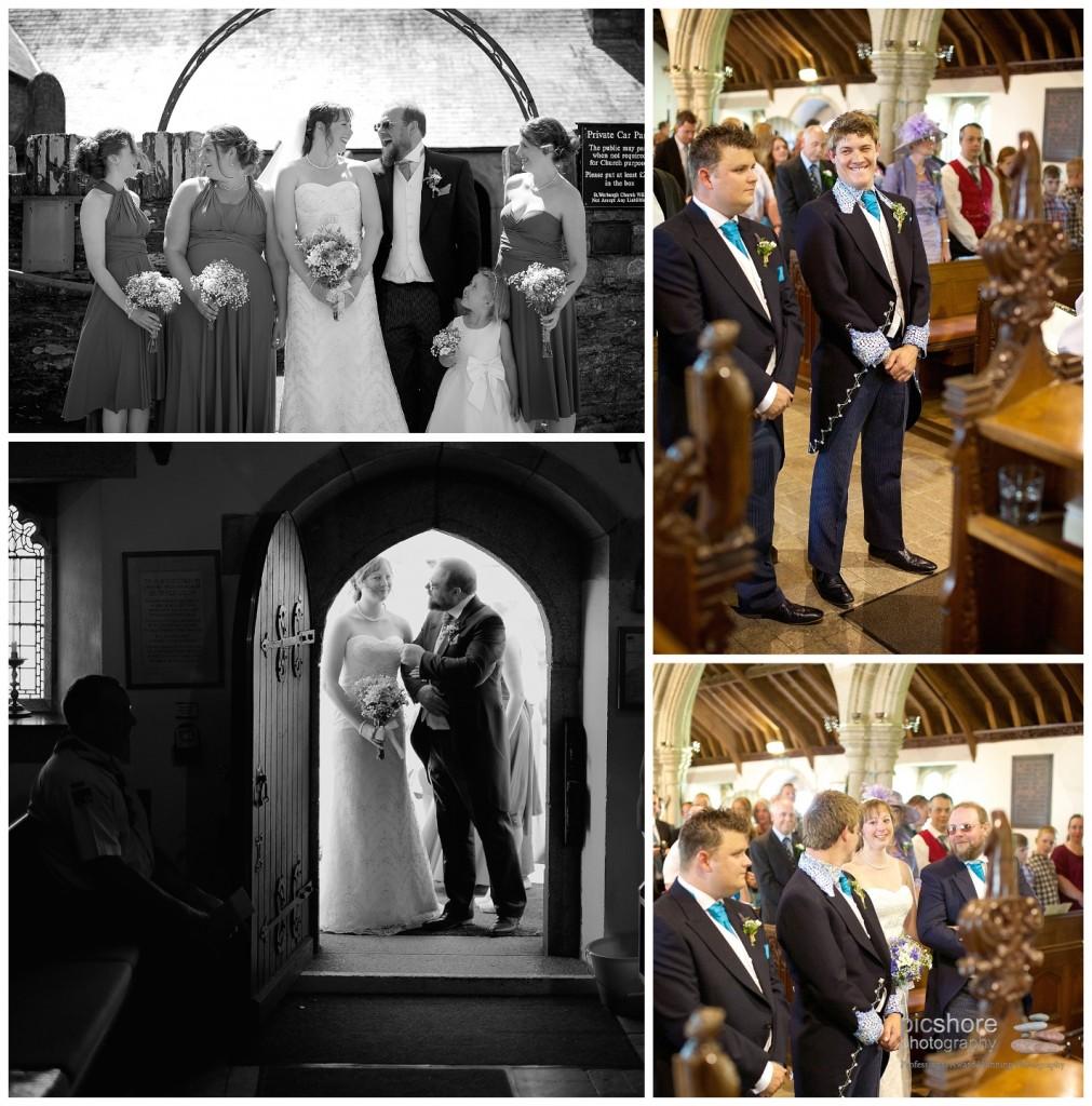 wembury church devon wedding picshore photography 2