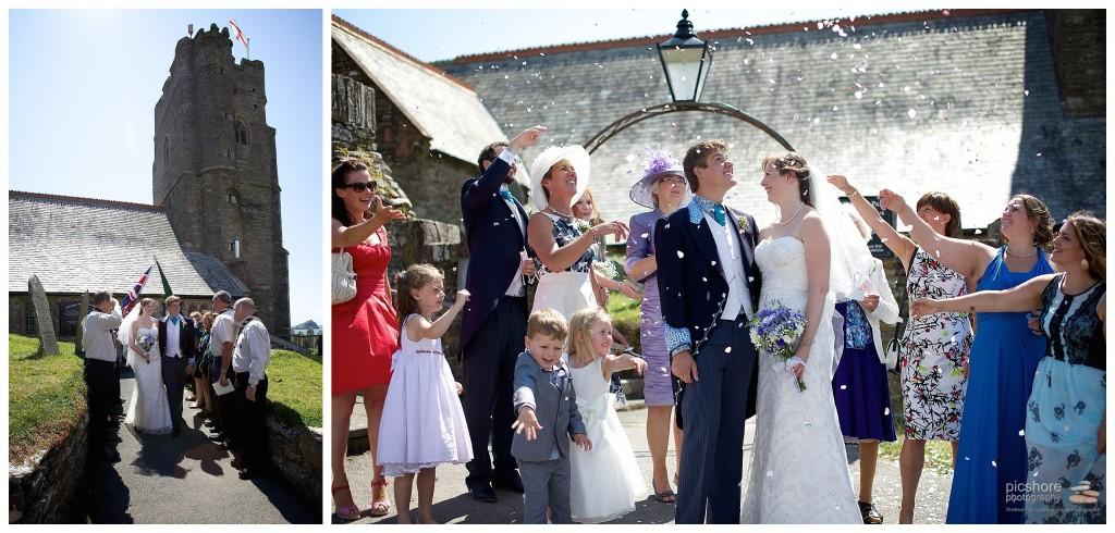 wembury church devon wedding picshore photography 4