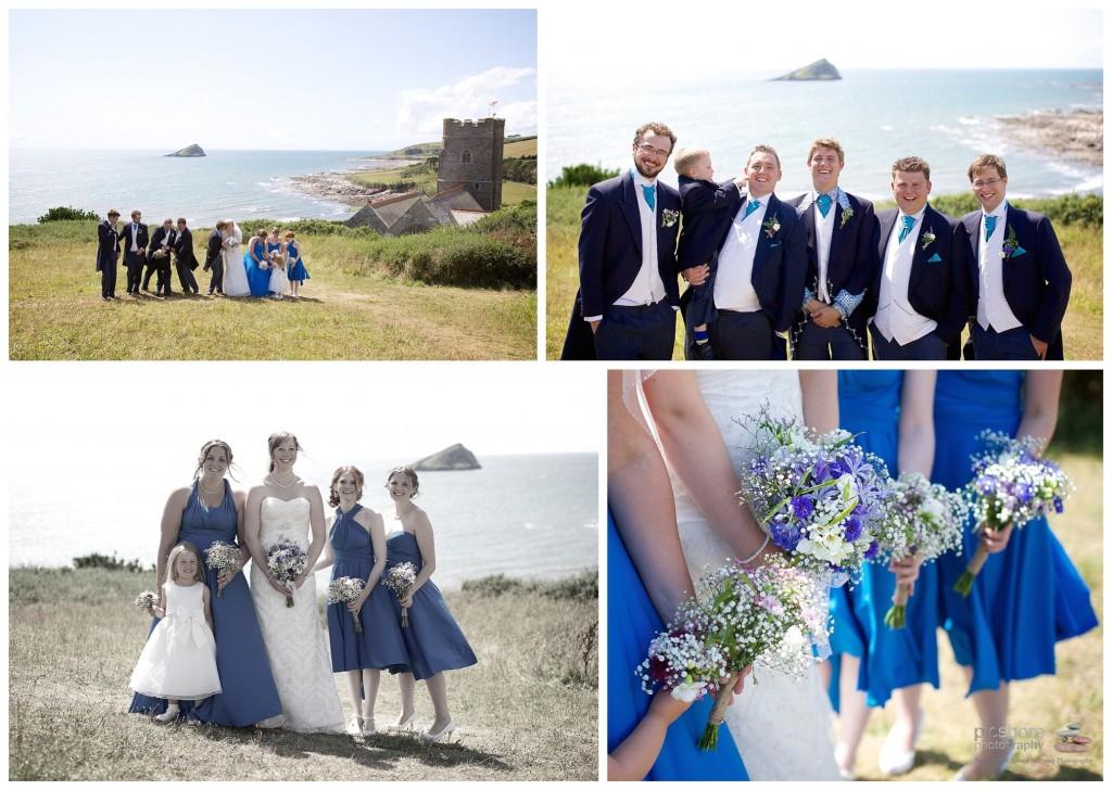 wembury church devon wedding picshore photography 5