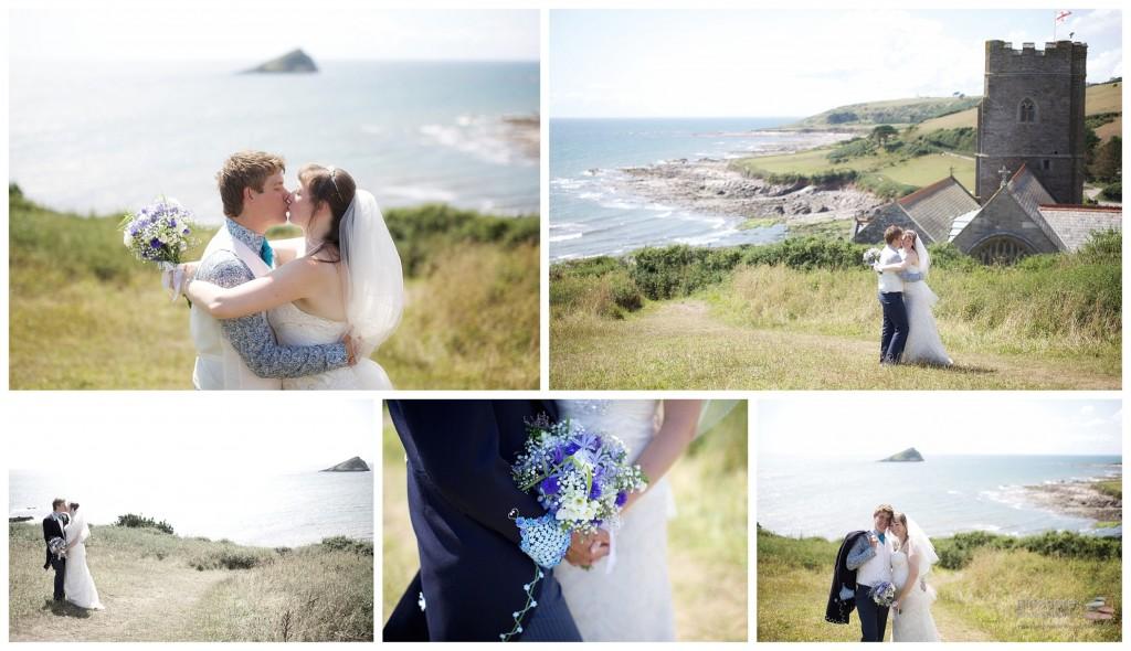 wembury church devon wedding picshore photography 6