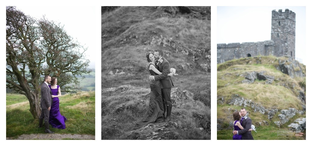 brentor church wedding devon picshore photography 11
