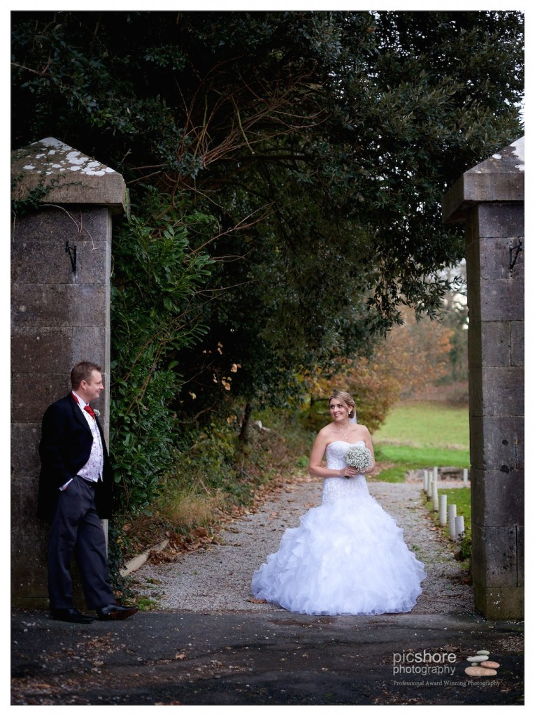 kitley house wedding plymouth Devon Christmas Wedding picshore photography 1