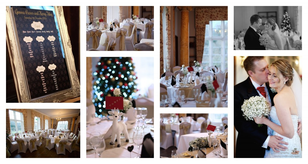 kitley house wedding plymouth Devon Christmas Wedding picshore photography 13
