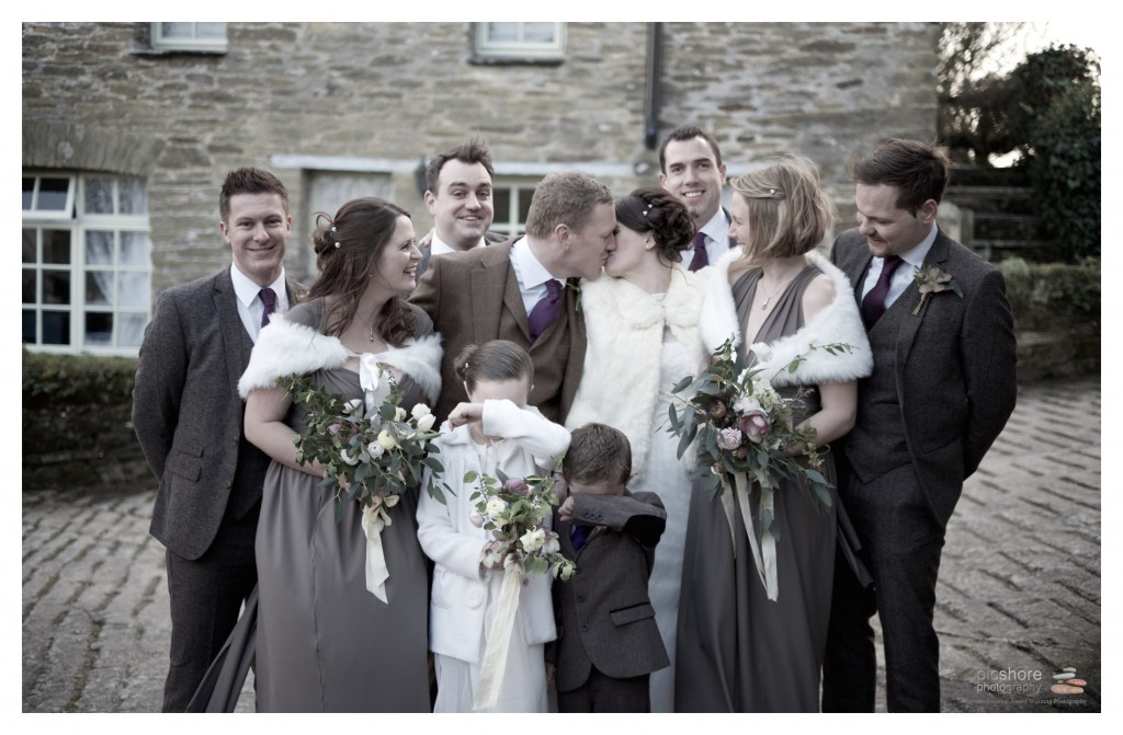Trenderway Farm wedding photographer Cornwall Picshore Photography 11