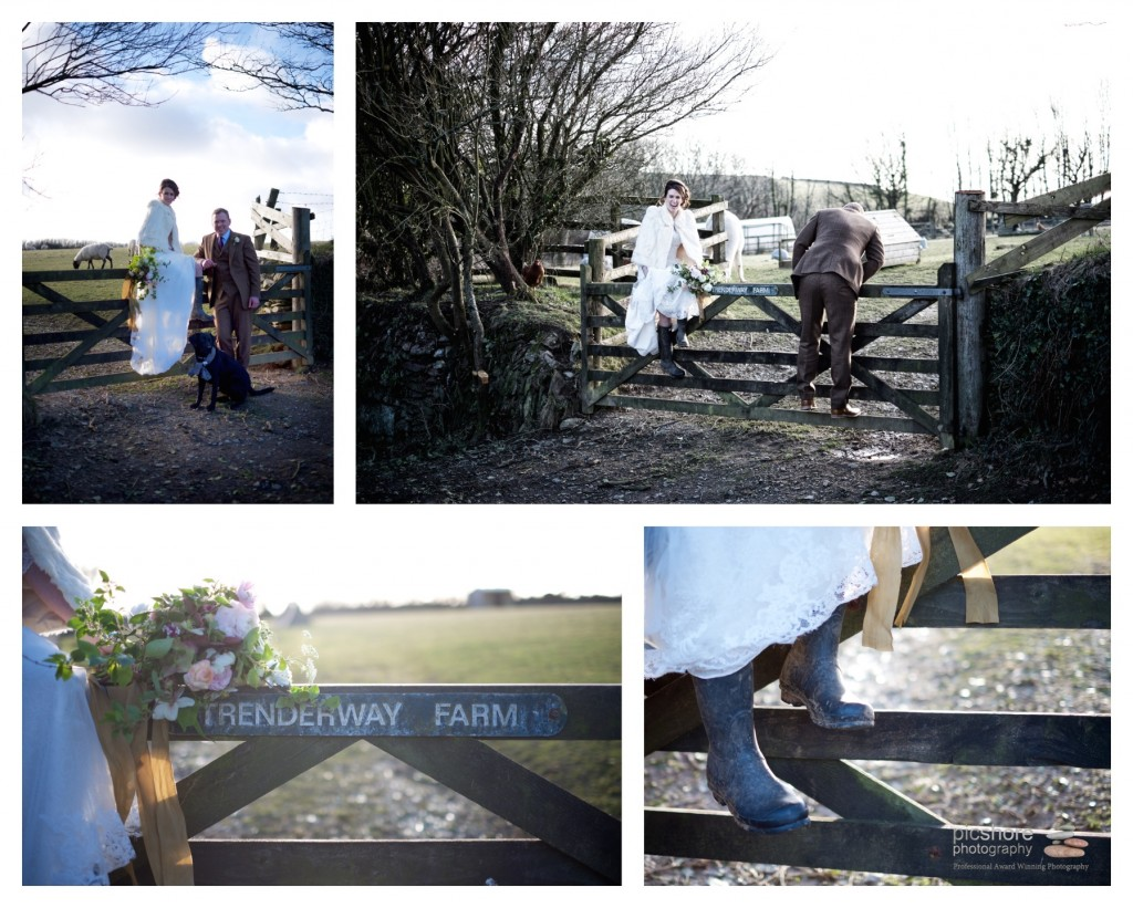 Trenderway Farm wedding photographer Cornwall Picshore Photography 14