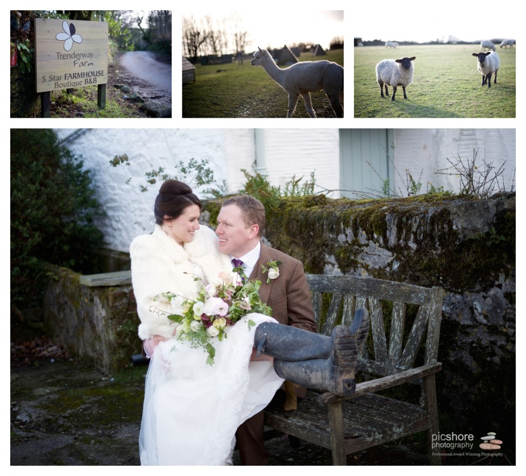 Trenderway Farm wedding photographer Cornwall Picshore Photography 18