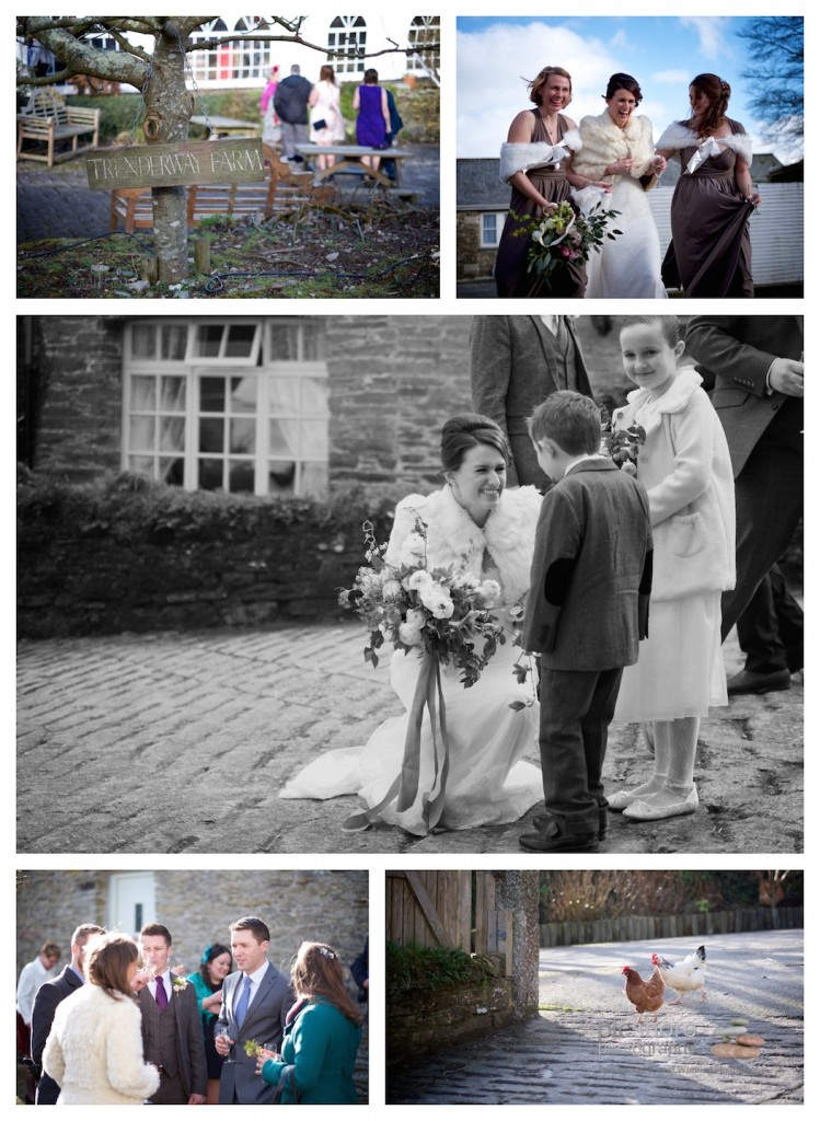 Trenderway Farm wedding photographer Cornwall Picshore Photography 9