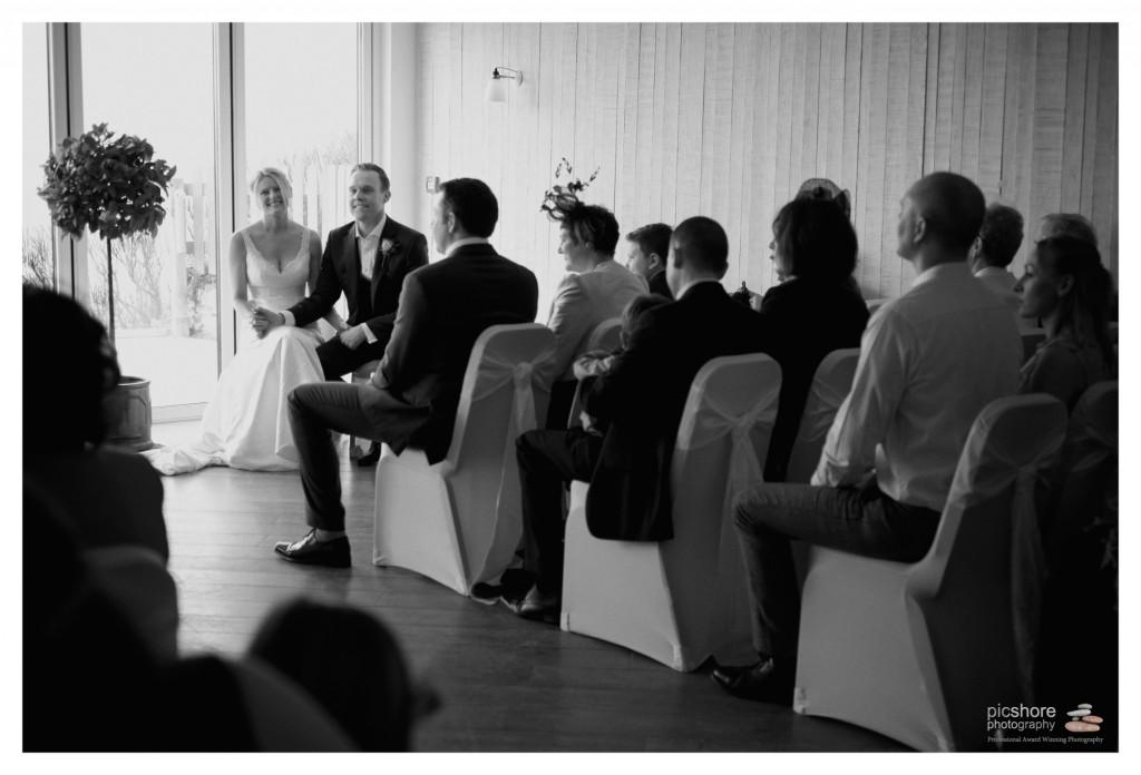 seaside wedding photographer cornwall picshore photography
