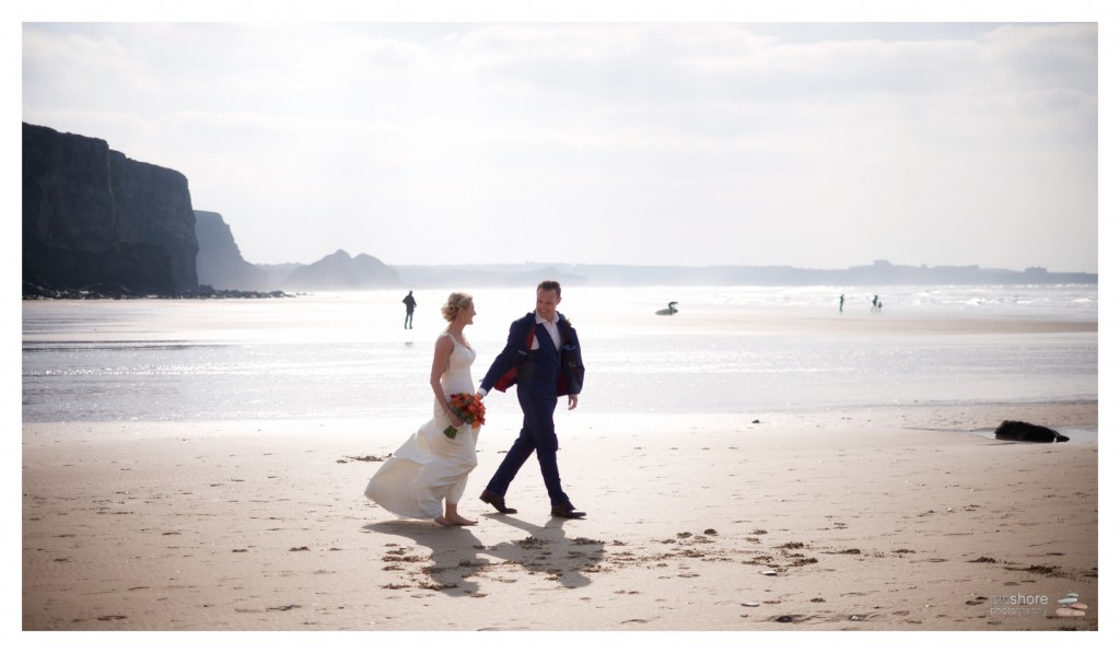 watergate bay wedding photographer cornwall